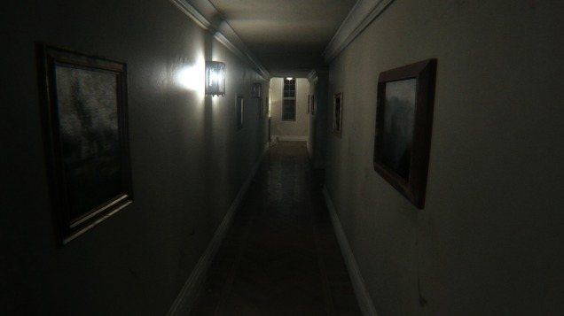 The first hallway you find yourself in. It won't be the last time you see it.